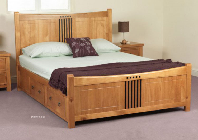 leather black sleigh bed wood bed aven red leather leon sweet dreams curlew - Double Bed Frames