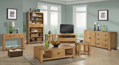 ... Ranges In Oak, Ash And Pine Furniture; From Traditional Rustic To  Contemporary  You Are Sure To Find The Ideal Surroundings For Your Home.